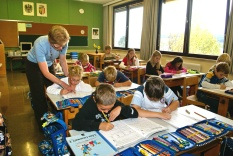 Kinder in der Klasse