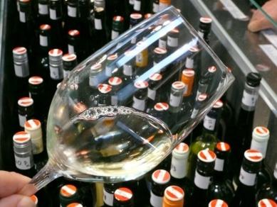 Glas und Flaschen