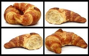 Das Backen eines guten Croissants grenzt an Wissenschaft. Foto: wrw/pixelio.de