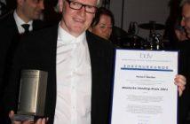 Norbert Monßen, Geschäftsführer des BDV, ist für seinen langjährigen Einsatz im Verband und für die Deutsche Vending-Branche mit dem Vending-Preis 2011 ausgezeichnet worden. Foto: Stefanie George/Vending Management