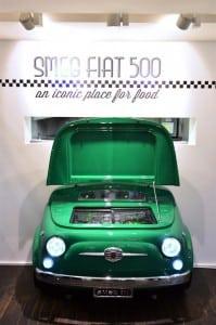 """Mit dem """"SMEG 500"""" setzt Fiat seine Tradition fort, mit Designobjekten auch außerhalb des Automobilsektors für Aufsehen zu sorgen. Foto: Fiat"""
