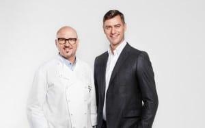 Thomas M. Walkensteiner und Marcus Winkler (v.l.n.r.). Foto: Wiberg