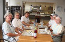 Das Küchenteam von St. Marien bei der Frühstückspause