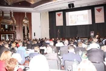 Vortragssituation bei der VdF-Tagung 2016. Foto: CM/max