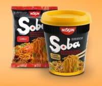 Asiatische Soba-Nudeln aus dem Hause Nissin. Foto: Nissin