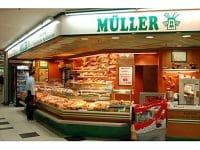 Verkaufstheke von Müller-Brot.