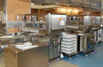 Blick in die Küche des AKH Wien