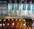 Getränkeregal Erfrischungsgetränke