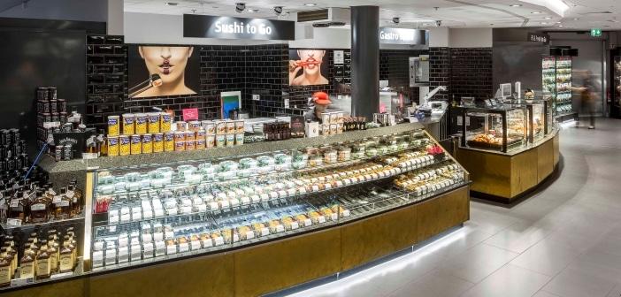 """Rewe-Markt in den """"Fünf Höfen"""" in München"""