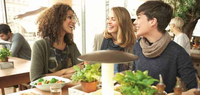 Drei Frauen bei Vapiano