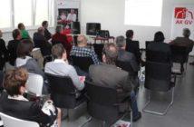 Veranstaltung des AKGV mit Refernt