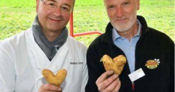Spitzenkoch Manfred Schwarz ist Markenbotschafter der Frühkartoffel Pfälzer Grumbeere