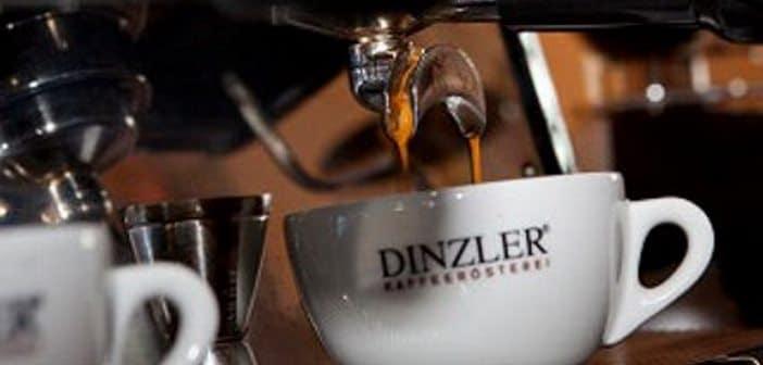 Tasse Dinzler Kaffee