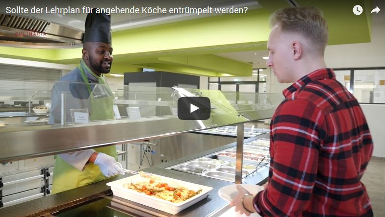 Screenshot Video Koch-Ausbildung