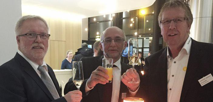 FiltaFry-Partner v.l.n.r: Hans Habers (FiltaFry Südwest), Montasser El-Nomany(FiltaFry Hessen), Jos van Aalst (CEO FiltaFry Deutschland)