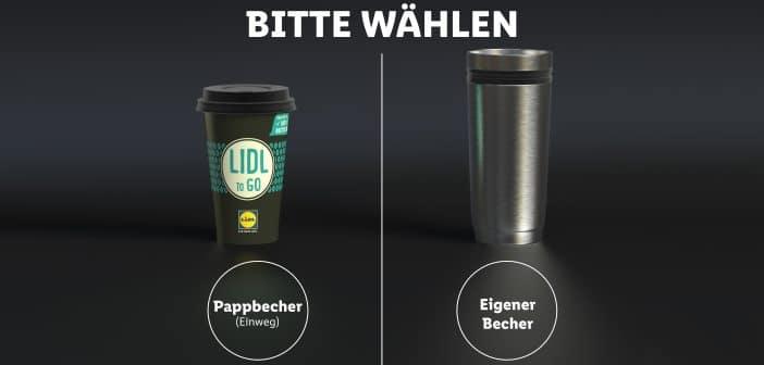 Lidl Becher