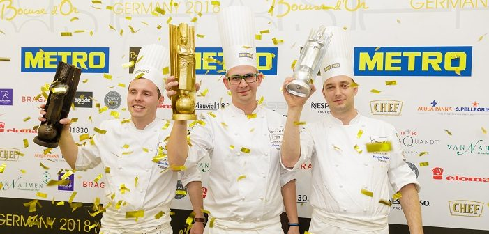 Marvin Böhm gewinnt den Bocuse d'Or Germany 2018