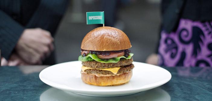 Protest gegen Kunstfleisch-Burger