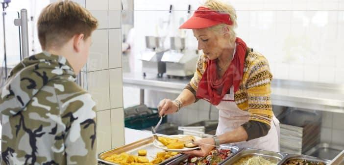 Essensausgabe Schule