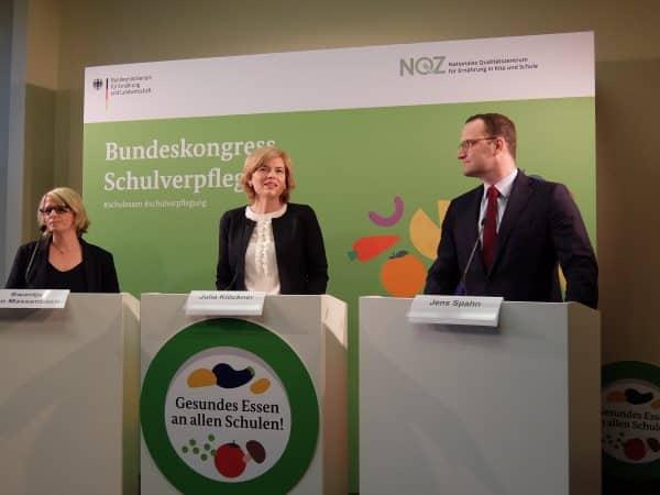 Julia Klöckner und Jens Spahn