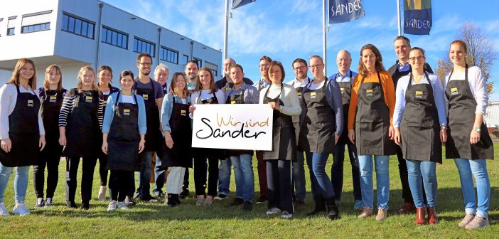 Mitarbeiter der Sander Gruppe.