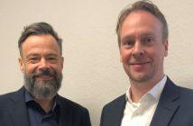 Die Unternehmensleiter Klaus Richter und Oliver Kohl von rebional