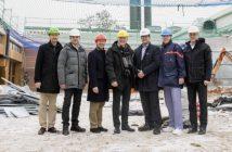 Baustart Großküche Landshut