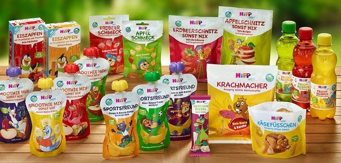 Hipp: bis 2025 nur noch wiederverwertbare Verpackung