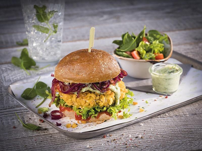 Vegeta Crunchy Veggie Burger