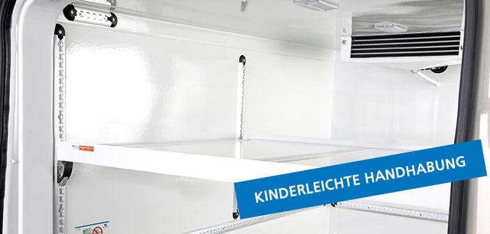 Winter Kühlfahrzeuge Zwischenboden kinderleichte Handhabung