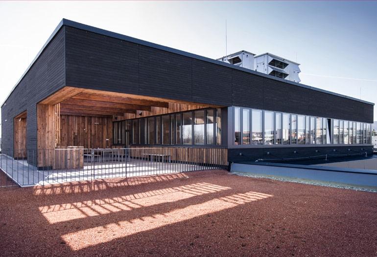 Aussenansicht magdas - ATP architekten ingenieure - Bild: ATP/Florian Schaller