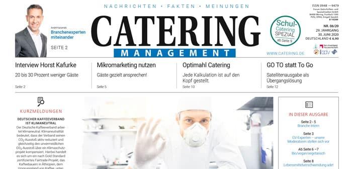 Catering Management Leseprobe 6 2020