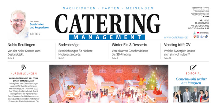 Catering Management Oktober 2020