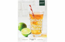 Grüner Tee Zitrone Ingwer