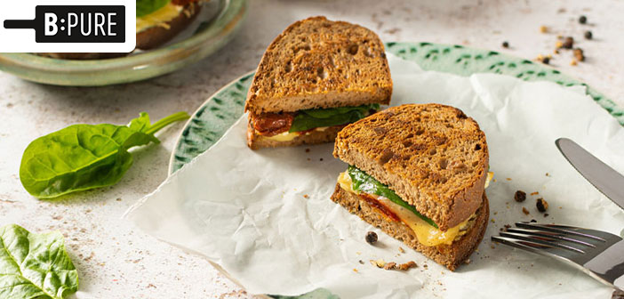 Vegane Grilled Cheese Sandwiches