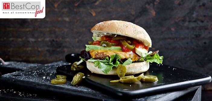 Quorn-Burger