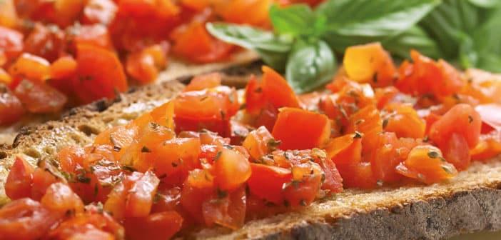 Bruschetta mit Tomate