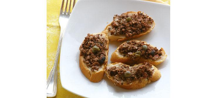 Schwarze Crostini aus der Toskana