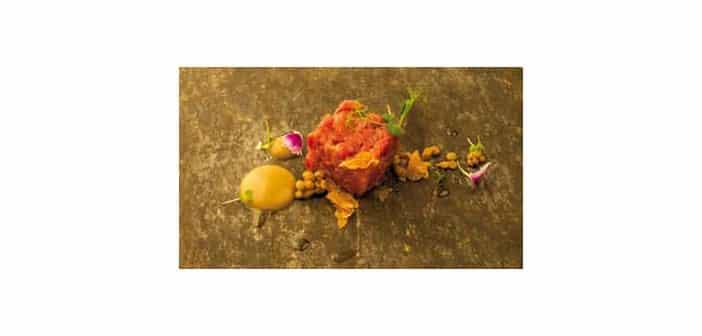 Fassone-Rindfleisch mit Linsencreme und weißem Trüffel