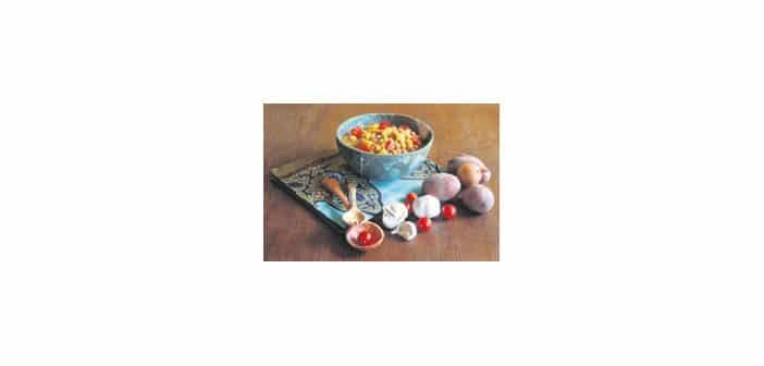 Kichererbsen-Kartoffel-Curry