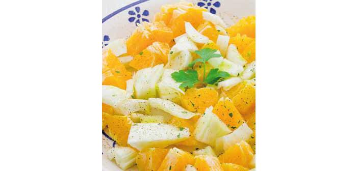 Orangen-Fenchel-Salat