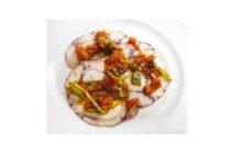 Tintenfisch-Carpaccio