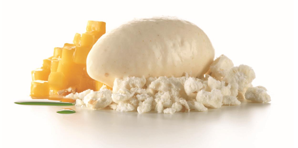 Hopfen-Popcorn Eis